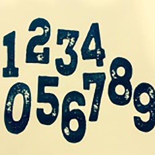 rustic numbers