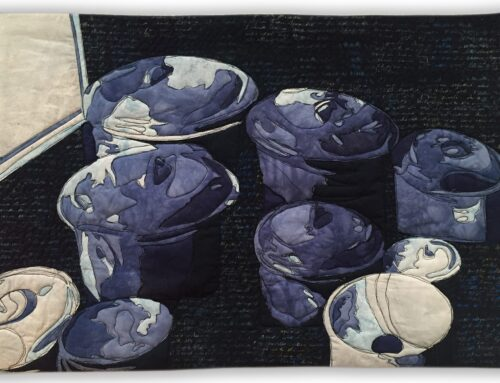 Blue Pots – Cloth in Common – Kitchen – 1-4