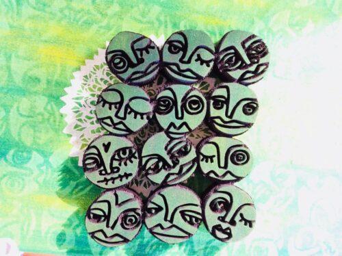 Art Foamies Stamps